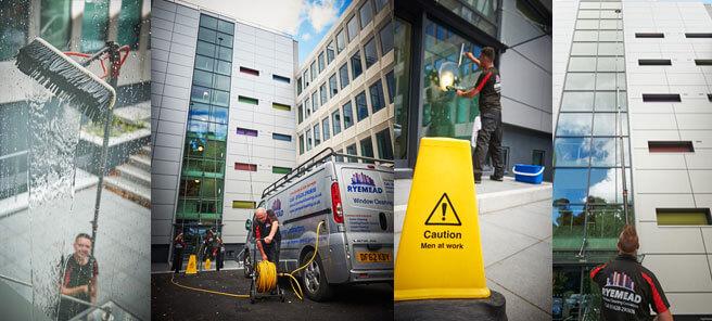 Commercial Window Cleaning Contractors UK
