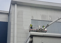 Building Façade & Cladding Cleaning