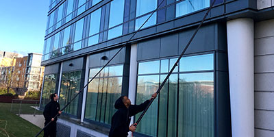 Sports Club Window Cleaning Services