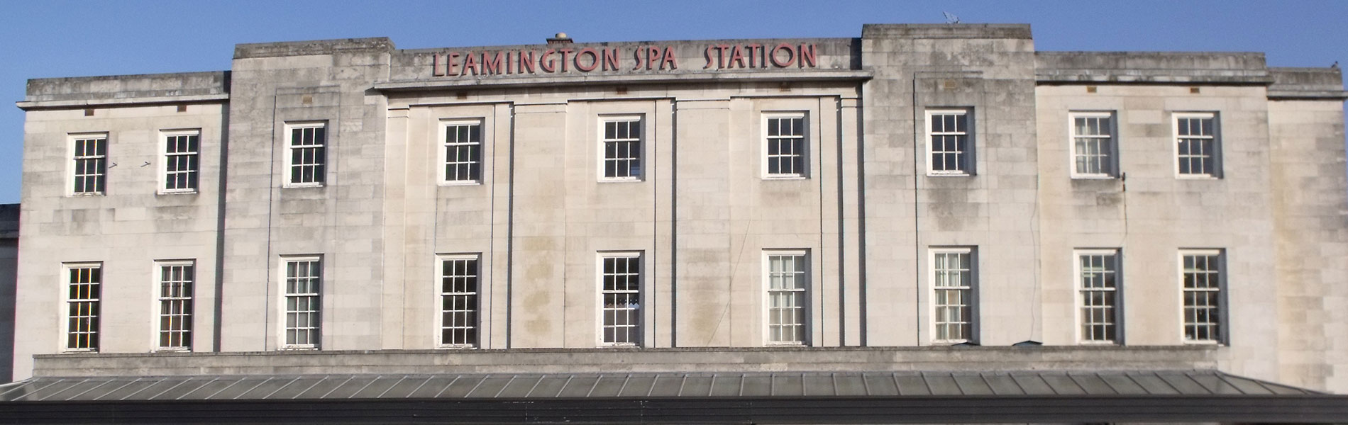 Commercial Window Cleaning at Leamington Spa Train Station