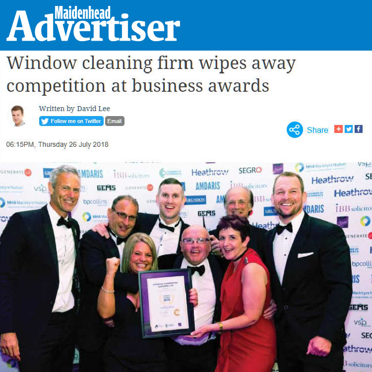 Ryemead win Business Award - Maidenhead Advertiser