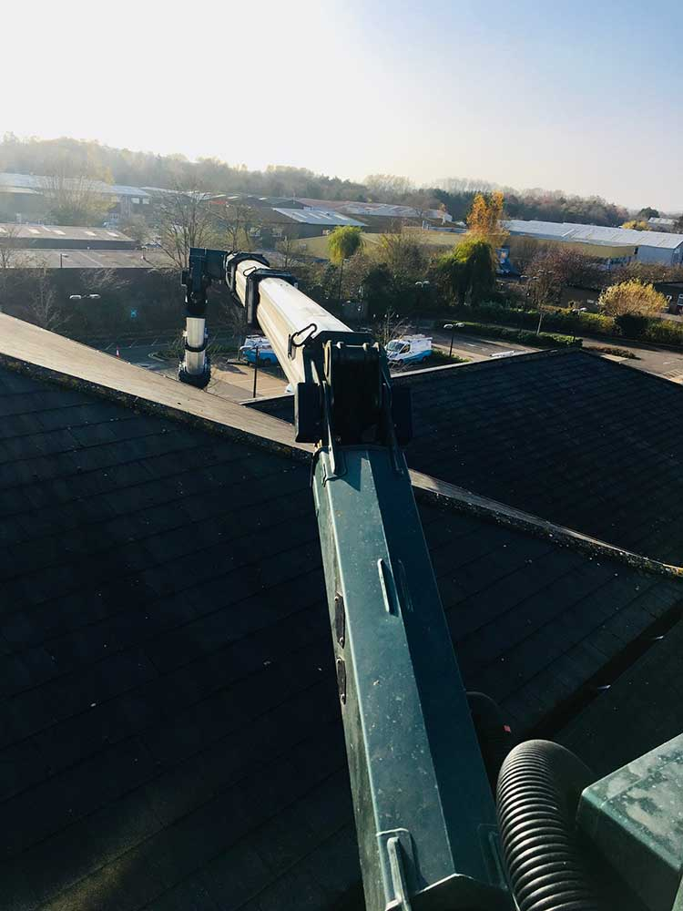 Gutter Cleaning At Cottsway Housing Association Case Study