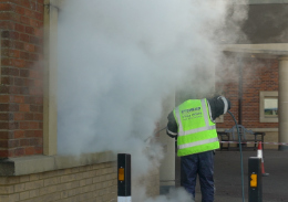 Exterior Building Cleaning DOFF Steam Cleaning