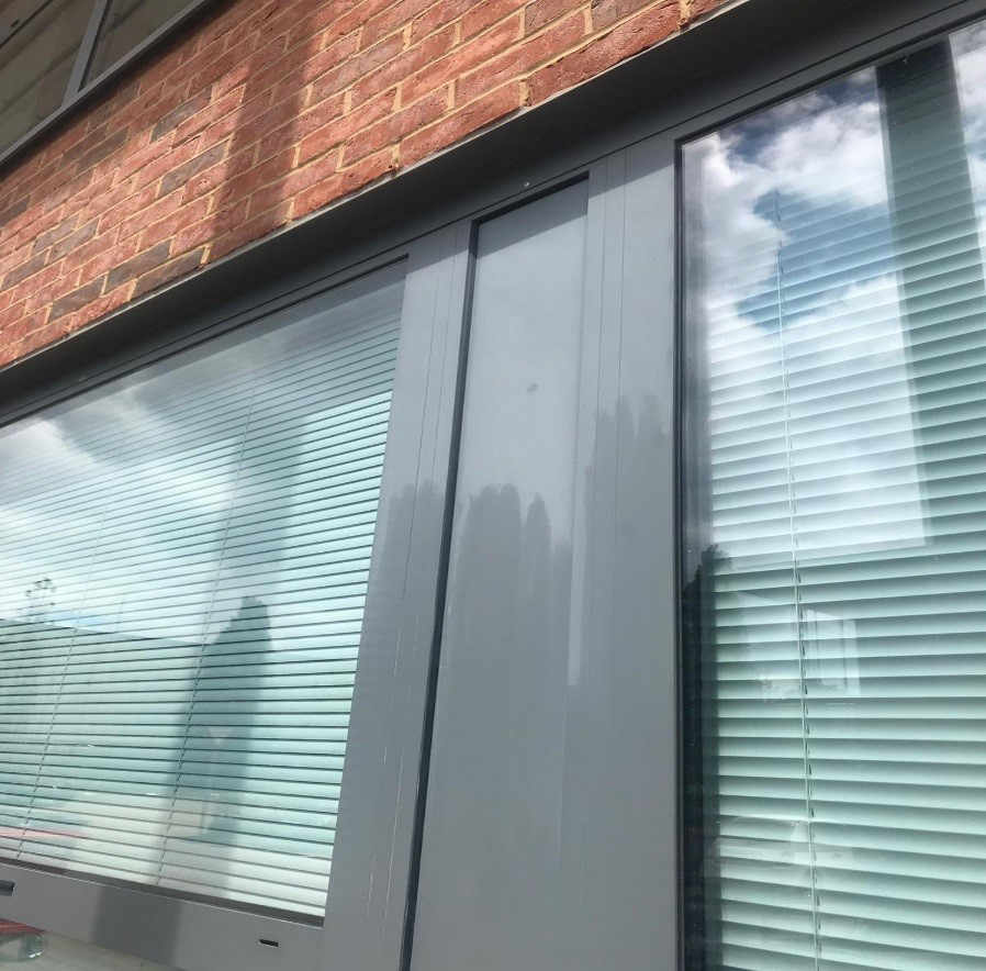 Exterior building cleaning at The Entertainer in Amersham