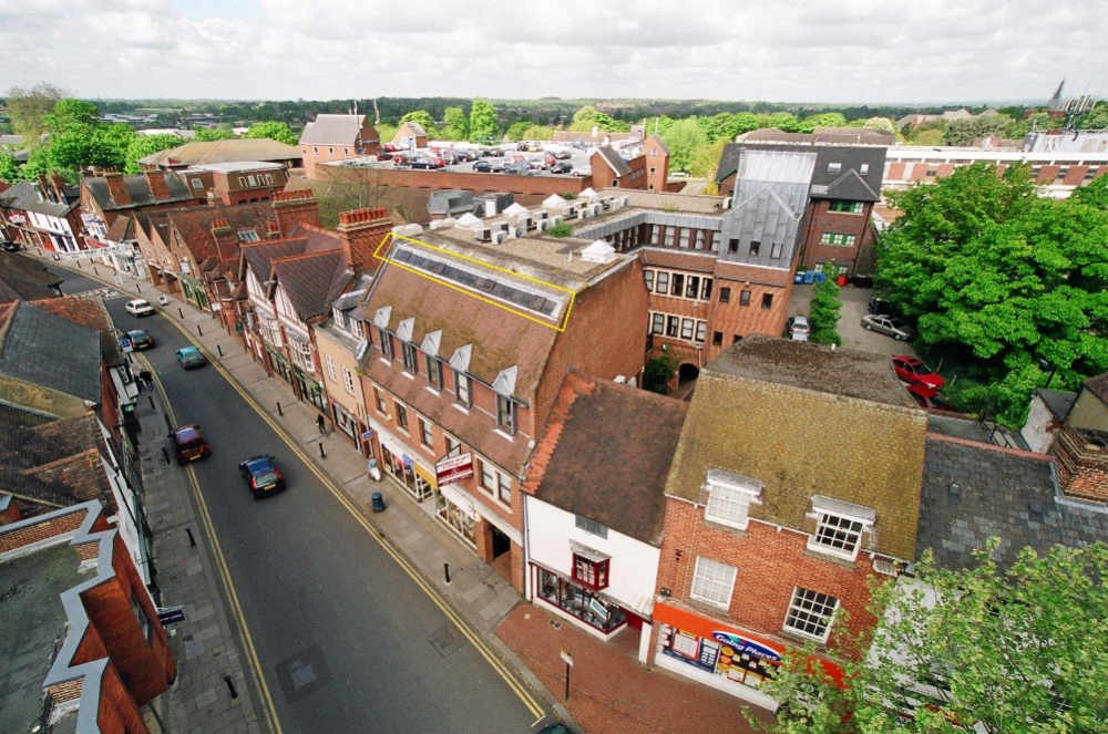 The Comland building in Wokingham