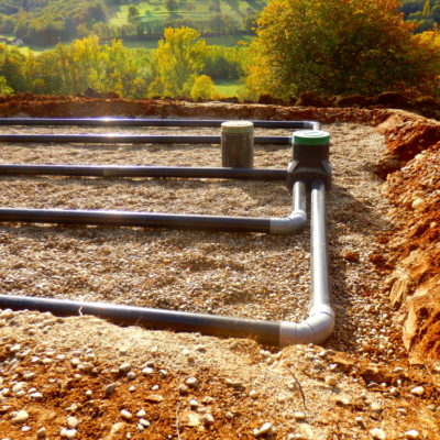 Breakthrough sewerage system.