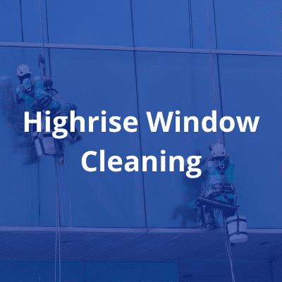 Highrise window cleaning